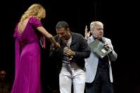 Sal Da Vinci, Claudio Lippi, Claudia Gerini - San Giorgio a Cremano (Na) - 23-04-2012 - Romanticismo: la chiave per entrare nel cuore delle donne
