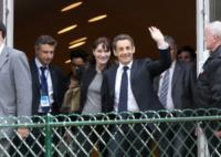 Nicolas Sarkozy, Carla Bruni - Parigi - 02-05-2012 - L'ex presidente Sarkozy in stato di fermo per concussione