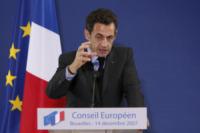 Nicolas Sarkozy - Los Angeles - 22-02-2011 - L'ex presidente Sarkozy in stato di fermo per concussione