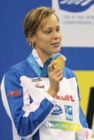 Federica Pellegrini - Shanghai - 28-07-2011 - Federica Pellegrini portabandiera italiana alle Olimpiadi di Rio