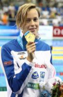 Federica Pellegrini - Shanghai - 27-07-2011 - Federica Pellegrini portabandiera italiana alle Olimpiadi di Rio