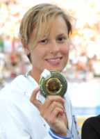 Federica Pellegrini - Budapest - 15-08-2010 - Federica Pellegrini portabandiera italiana alle Olimpiadi di Rio
