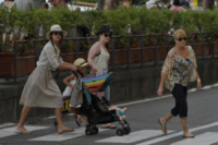 Haven Garner Warren, Honor Warren, Jessica Alba - Amalfi - 12-07-2012 - Estate 2019: i vip turisti abituali in Italia