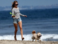 Rosie Huntington-Whiteley - Los Angeles - 03-06-2012 - Bizzarrie da star: Barbra Streisand clona il suo cane