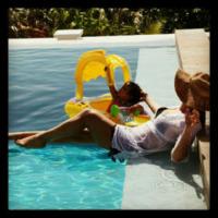Moroccan, Mariah Carey - 14-08-2012 - L'estate non è solo mare, ma anche tranquillitàdella piscina