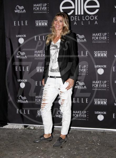 Francesca Piccinini - Milano - 08-10-2012 - Ecco le celebrity che fanno uno strappo alla regola… dei jeans