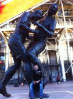 Marco Materazzi - Parigi - 06-11-2012 - Tutti i personaggi che si sono meritati una statua