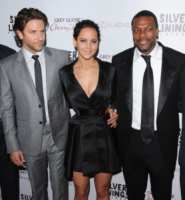 Jennifer Lawrence, Chris Tucker, Bradley Cooper - Beverly Hills - 19-11-2012 - Bradley Cooper e Jennifer Lawrence presentano Silver Linings Playbook