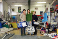 Ilaria Filippini, Silvia Filippini, Elena Filippini - Gargnano - 13-12-2012 - Kevlove,                    una vela sottobraccio