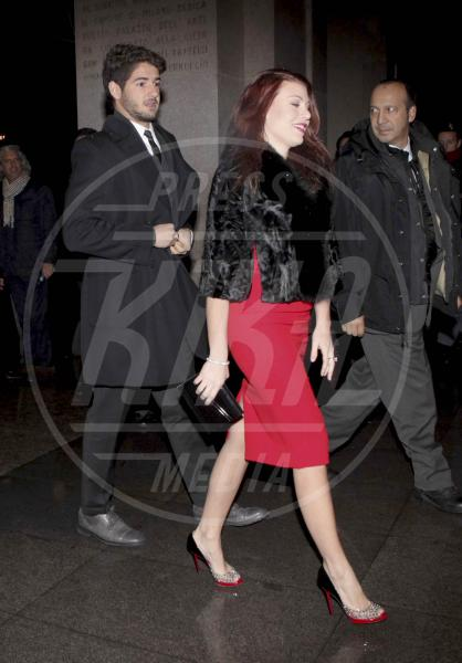 Alexandre Pato, Barbara Berlusconi - Milano - 14-12-2012 - I colpi di testa di Barbara Berlusconi