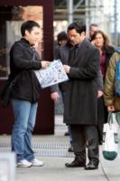 Danny Pino - New York - 18-12-2012 - Mariska Hargitay sul set di Law & Order