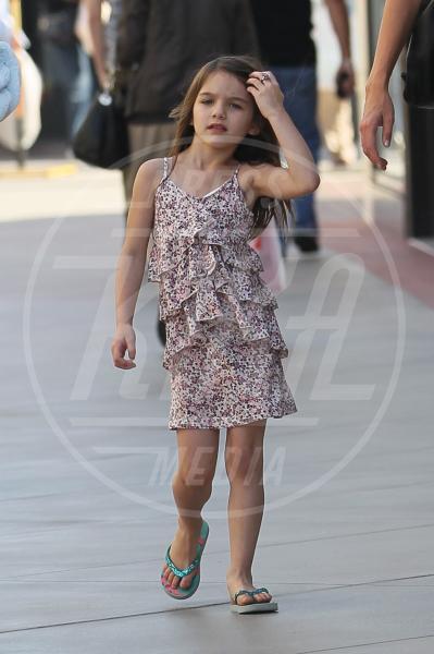 Suri Cruise - Los Angeles - 10-10-2011 - A Hollywood, piccole fashioniste crescono