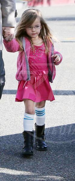 Seraphina Rose Elizabeth Affleck - Los Angeles - 23-12-2012 - A Hollywood, piccole fashioniste crescono