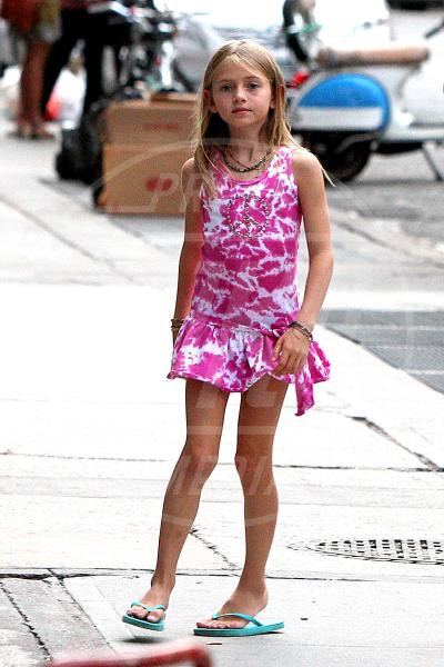 Leni Samuel - New York - 24-07-2012 - A Hollywood, piccole fashioniste crescono