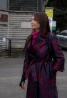 Anna Oxa - Roma - 13-01-2013 - Basta tinta unita! Colora l'inverno con un cappotto fantasia!
