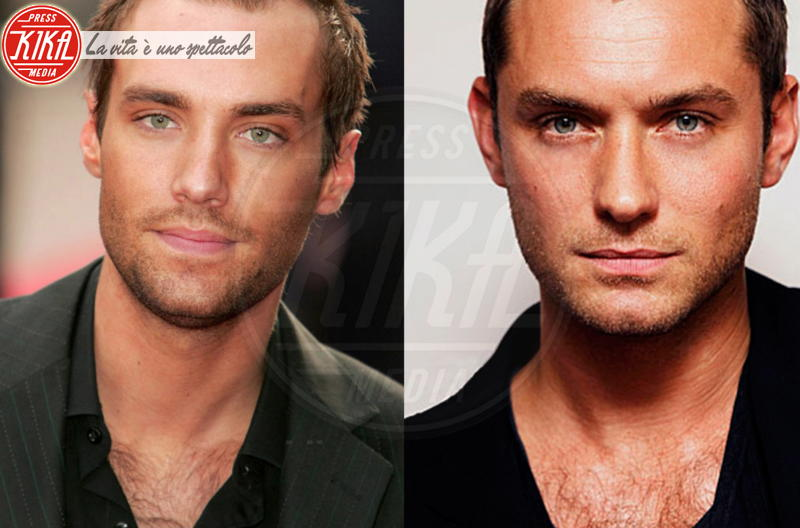 Calum Best, Jude Law - Hollywood - 28-11-2014 - Maeve o Harley Quinn? Quando le star sembrano clonate