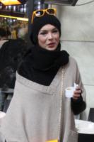 Andrea Lehotska - Milano - 22-01-2013 - Con sto freddo con sto vento, chi esce senza sciarpa?