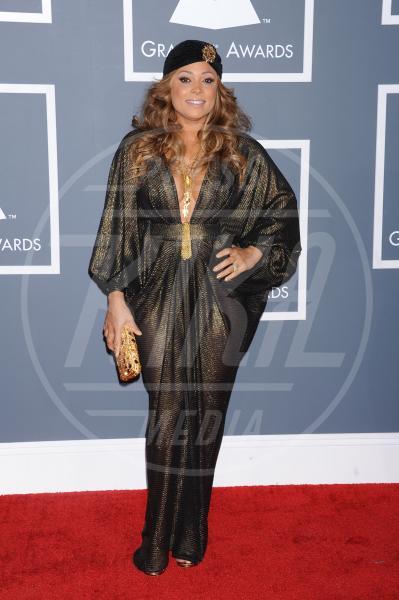 Tamia - Los Angeles - 09-02-2013 - Grammy Awards 2013: il red carpet si fa sexy