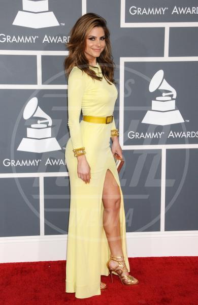 Maria Menounos - Los Angeles - 10-02-2013 - Grammy Awards 2013: il red carpet si fa sexy