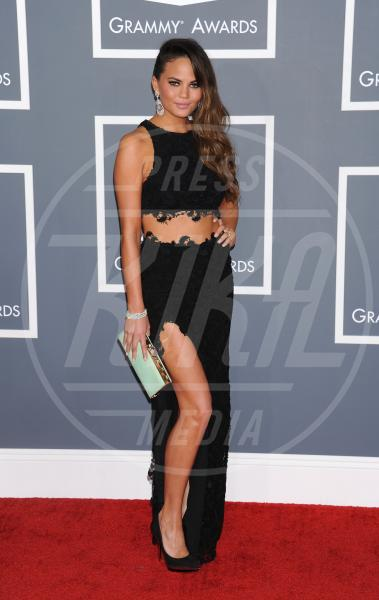 Christine Teigen - Los Angeles - 09-02-2013 - Grammy Awards 2013: il red carpet si fa sexy