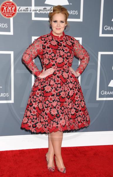 Adele - Los Angeles - 10-02-2013 - Vita stretta e gonna ampia: bentornati anni '50!