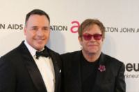 David Furnish, Elton John - Los Angeles - 24-02-2013 - Baldwin-Delevingne: la bandiera arcobaleno sempre più in alto