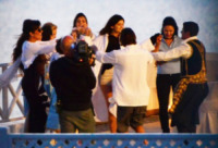 Kardashian, Kendall Jenner, Kylie Jenner, Bruce Jenner, Kris Jenner - Mykonos - 13-01-2013 - Clan Kardashian: il bello di essere ricchi e famosi