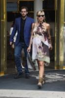 Tomaso Trussardi, Michelle Hunziker - Milano - 27-06-2013 - E' nata Sole, la figlia di Michelle Hunziker e Tomaso Trussardi