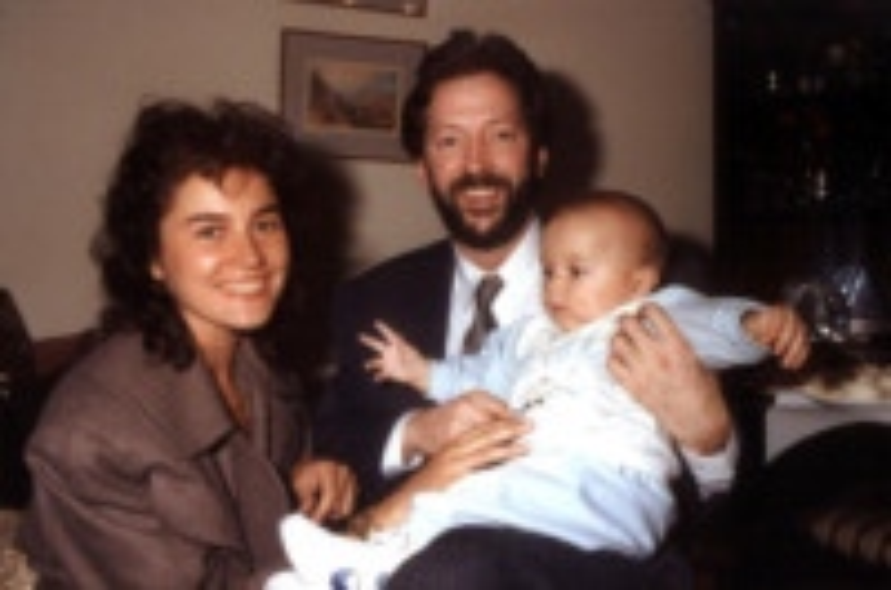 Conor, Lory Del Santo, Eric Clapton - Rimini - 29-09-2010 - Kabir Bedi e la maledizione vip: veder morire i propri figli