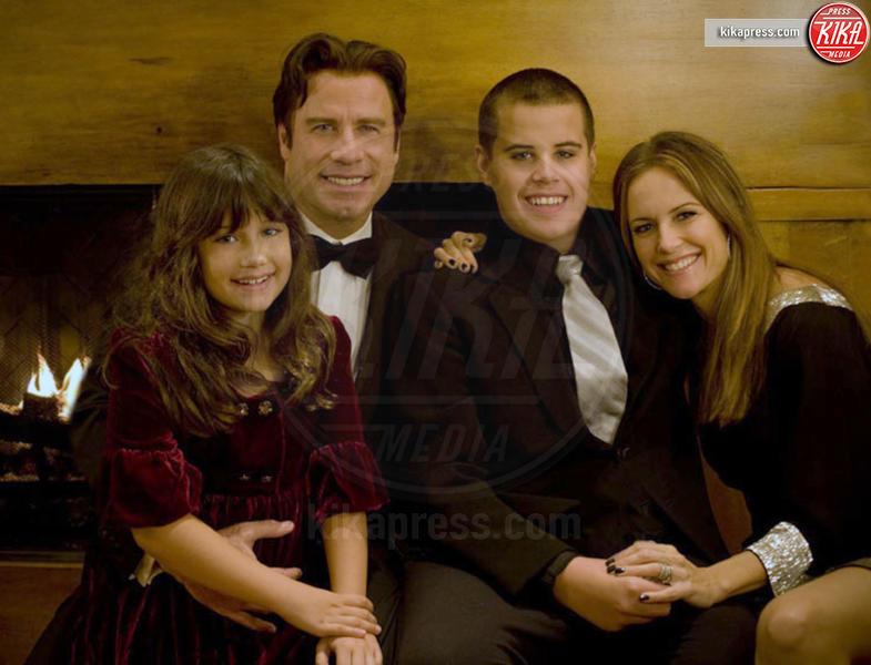 Jett Travolta, Kelly Preston, John Travolta - Hollywood - 03-01-2009 - Kabir Bedi e la maledizione vip: veder morire i propri figli