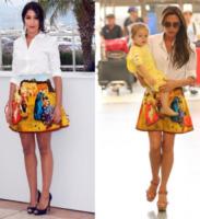 Leila Bekhti, Victoria Beckham - 04-07-2013 - Lady Gaga e le altre: indossa l'arte e mettila da parte!