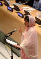 Malala Yousafzai - New York - 12-07-2013 - Malala Yousafzai raccoglie la standing ovation dell'Onu