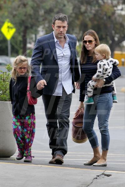 Seraphina Rose Elizabeth Affleck, Violet Anne Affleck, Jennifer Garner, Ben Affleck - Los Angeles - 04-08-2013 - Jessica Biel: un figlio per salvare il matrimonio?
