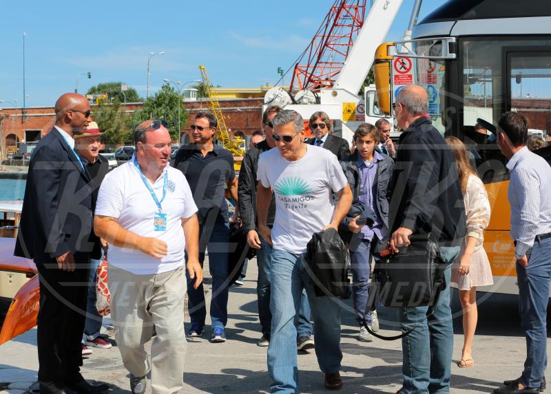 George Clooney - Venezia - 27-08-2013 - Professione star fa rima con passione bollicine