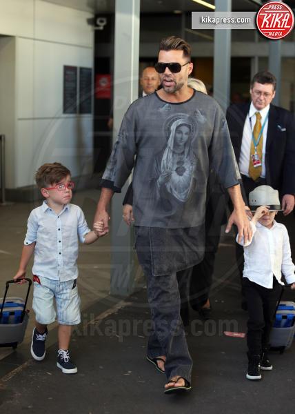 Valentino Martin, Matteo Martin, Ricky Martin - Sydney - 27-09-2013 - Charlene avrà due gemelli: quante star come lei!