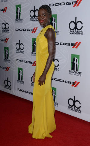 Lupita Nyong'o - Beverly Hills - 21-10-2013 - Lupita Nyong'O: i migliori look dell'attrice keniota