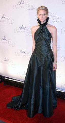 Principessa Charlene Wittstock - Los Angeles - 30-10-2013 - Letizia, Rania, Mathilde, Charlene, Maxima: regine di stile
