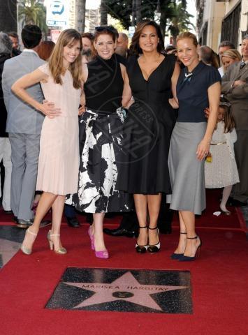 Mariska Hargitay, Hilary Swank, Maria Bello, Debra Messing - Hollywood - 08-11-2013 - Mariska Argitay è la stella 2511 della Walk Of Fame