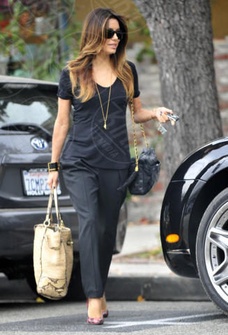 Eva Longoria - West Hollywood - 12-11-2013 - Paglia, vimini & corda: ecco le borse dell'estate!