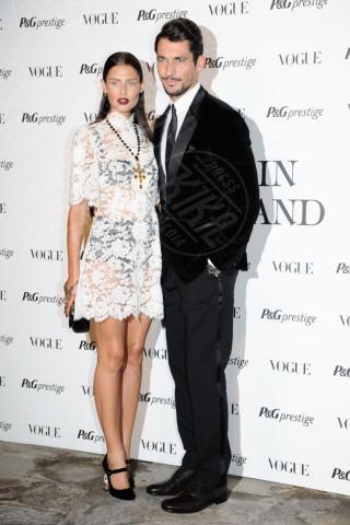 David Gandy, Bianca Balti - Milano - 19-09-2013 - Lorenza Izzo e Bianca Balti: chi lo indossa meglio?