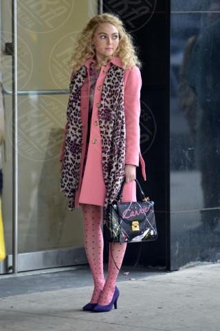 Annasophia Robb - New York - 06-02-2013 - L'inverno è più romantico con il cappotto rosa!