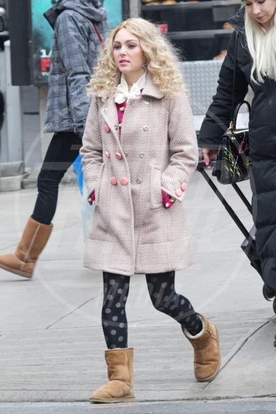 Annasophia Robb - New York - 09-01-2013 - L'inverno è più romantico con il cappotto rosa!