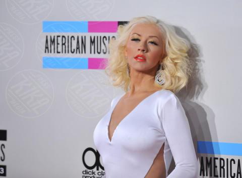 Christina Aguilera - Hollywood - 24-11-2013 - Spears-Aguilera finiscono in un giro di spaccio di droga