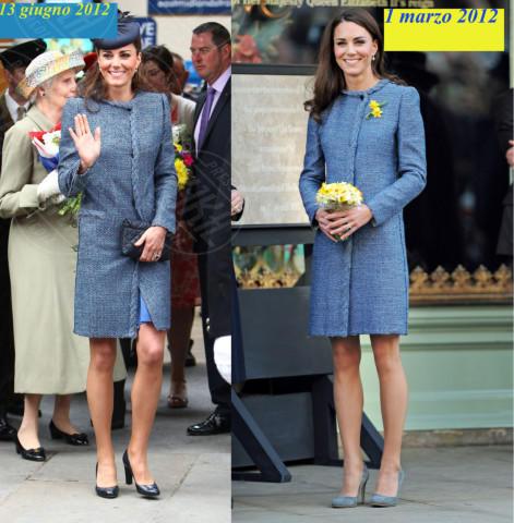 Kate Middleton - 28-11-2013 - Kate Middleton è la signora in rosso… di nuovo!