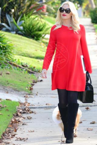 Gwen Stefani - Los Angeles - 28-11-2013 - Sarà un inverno caldo… con un cappotto rosso!
