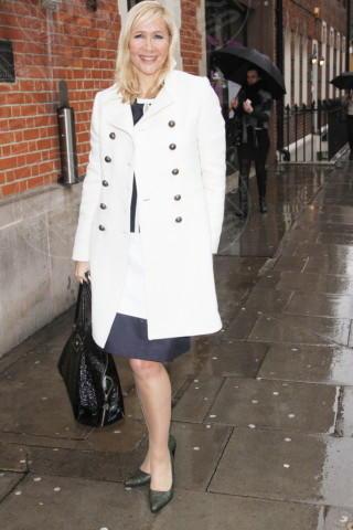 Tania Bryer - Londra - 08-03-2013 - Le celebrities vanno in bianco… anche d'inverno!