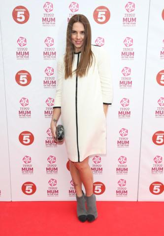 Mel C - Londra - 03-03-2013 - Le celebrities vanno in bianco… anche d'inverno!