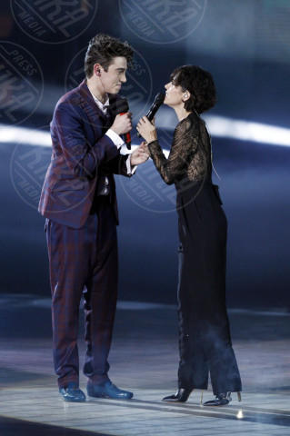 Michele Bravi, Giorgia - Milano - 13-12-2013 - X-Factor 7: vincono Morgan e Michele Bravi