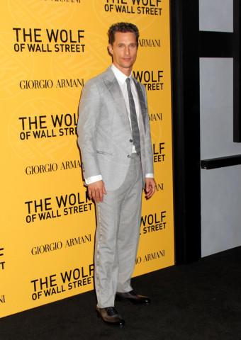 Matthew McConaughey - New York - 18-12-2013 - Matthew McConaughey, a ogni evento il suo colore