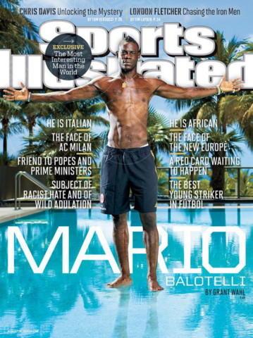 Mario Balotelli - Milano - 21-08-2013 - Mario Balotelli-Fanny Neguesha: un amore da soap opera